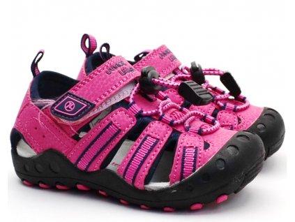 Sandále trekové Junior League L71/201-061 růžové