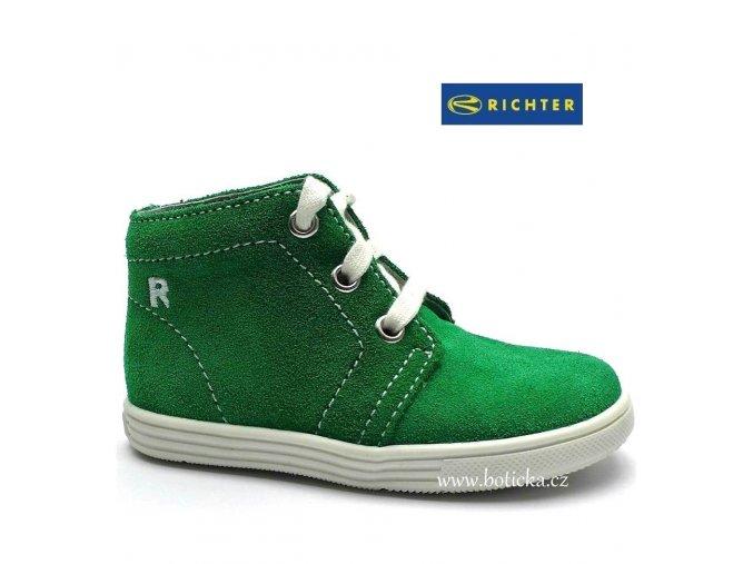 RICHTER obuv 0126 zelené