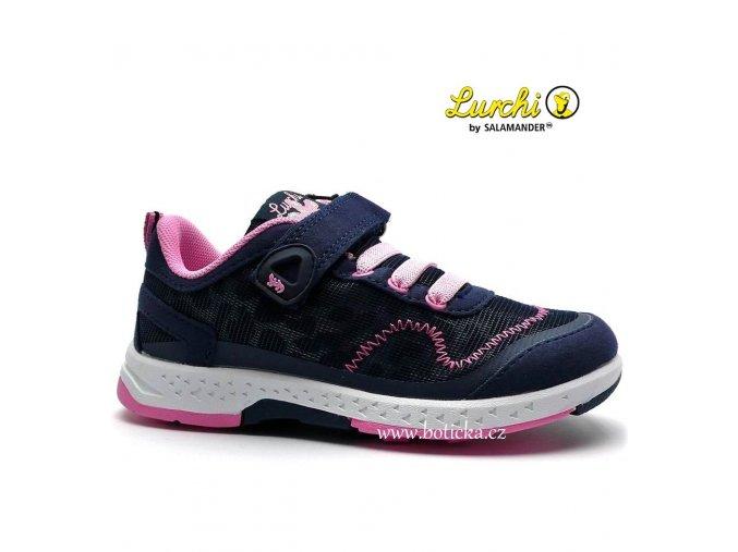 LURCHI obuv 33-26403 modrorůžové