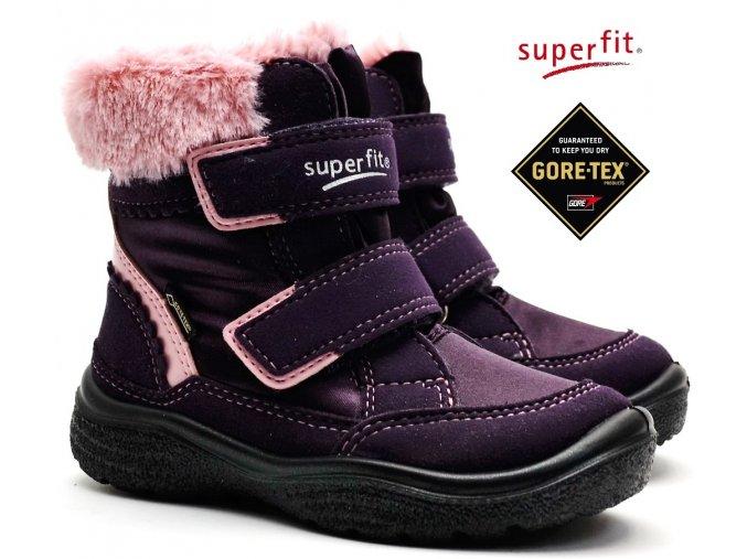 Zimní obuv SUPERFIT 3-09090-90 lila/rosa