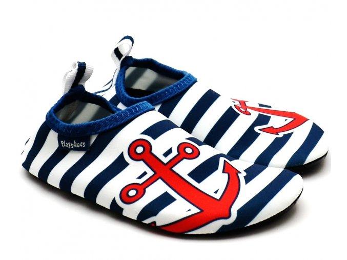 Barefoot boty do vody Playshoes 174901 námořní