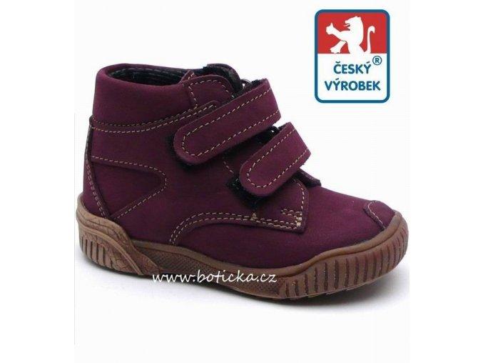 VELETA celoroční obuv 024 fialové