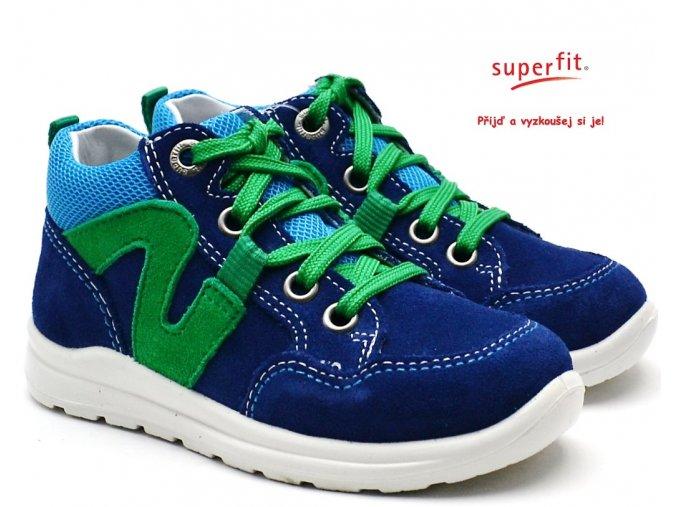 Dětské boty SUPERFIT 4-00323-81 blau