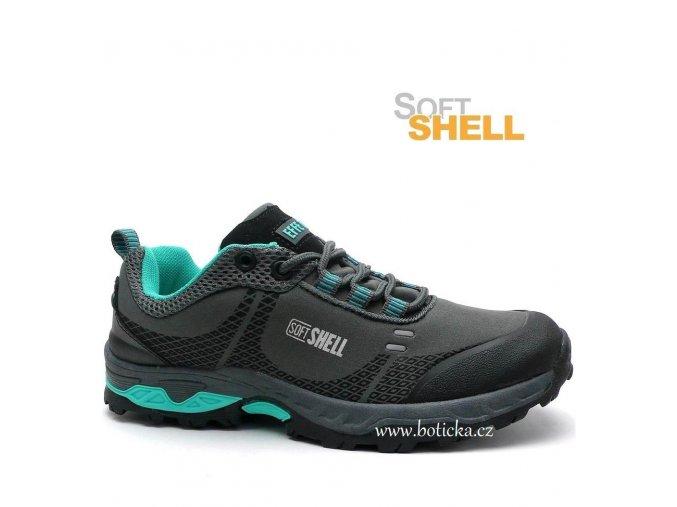 EFFE TRE softshell obuv 3173000 šedé