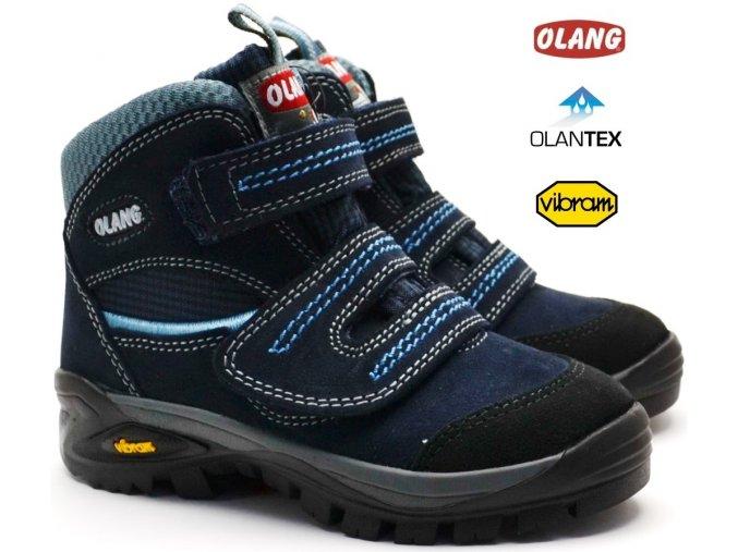 Trekové boty OLANG FOX 82.tex blu