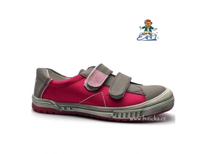 Dětské boty SÁZAVAN ESSI S 1782T šedorůžové