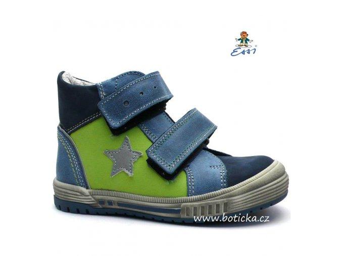 Dětské boty SÁZAVAN ESSI S2546 modrozelené