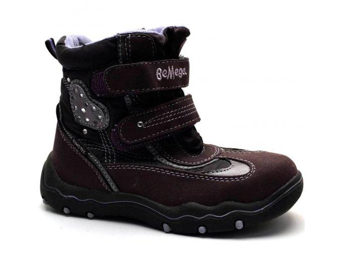 Zimní obuv Be Mega 7030908 viola