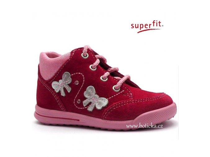 SUPERFIT obuv 0-00372-64 pink kombi