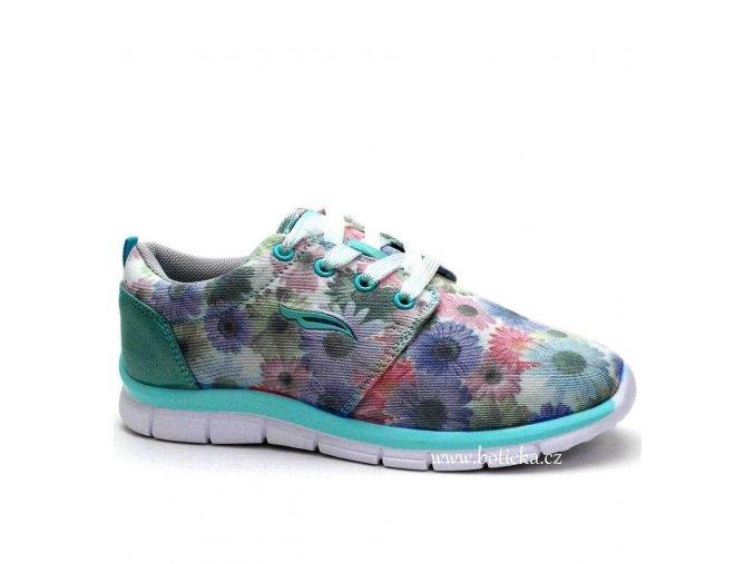 Sport obuv 260673 zelenkavé