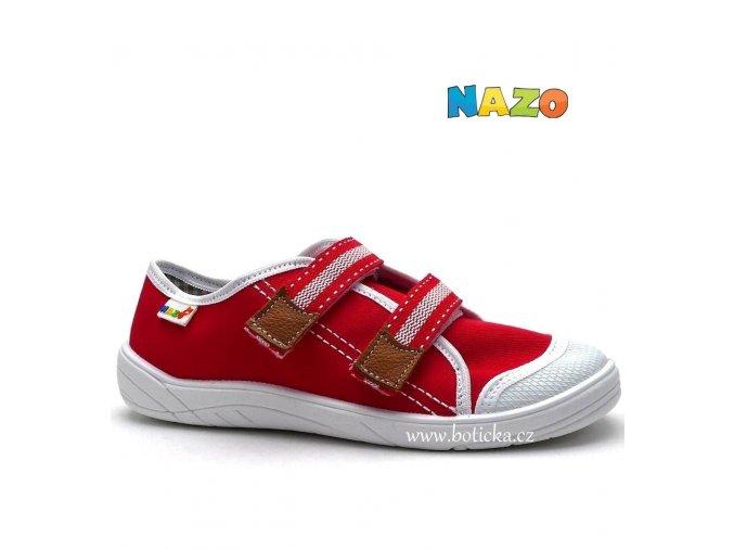 NAZO tenisky plátěné NA/032 DA červené