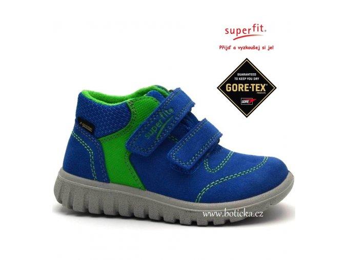 SUPERFIT obuv 1-00193-85 bluet kombi