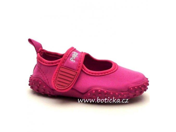 Boty do vody PLAYSHOES 174797 růžové