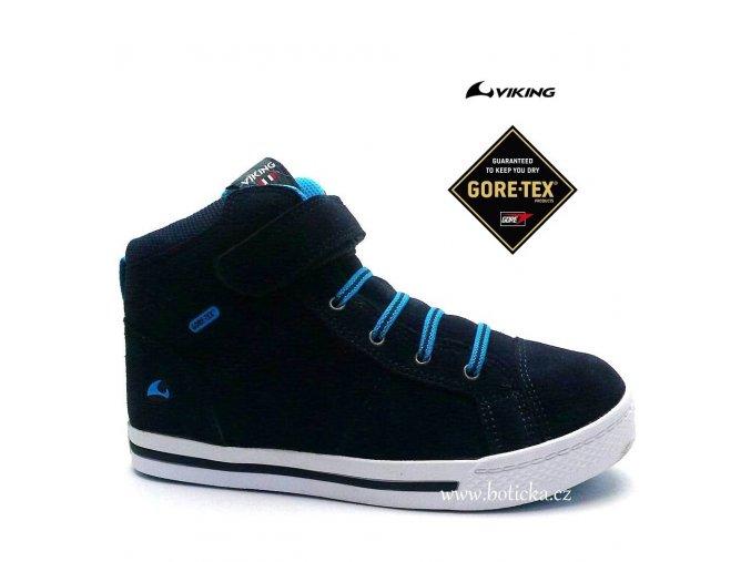 VIKING obuv 3-83070 gore-tex Falcon modré