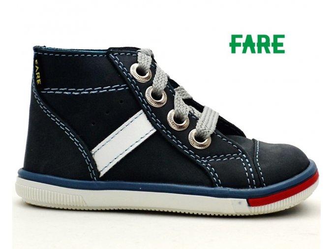 Dětské boty FARE 2151103 šedé