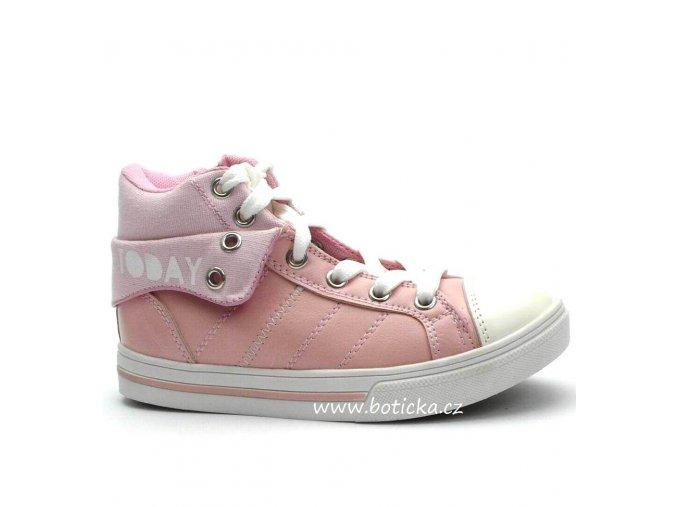 FLOWER GIRL obuv 241780 růžové