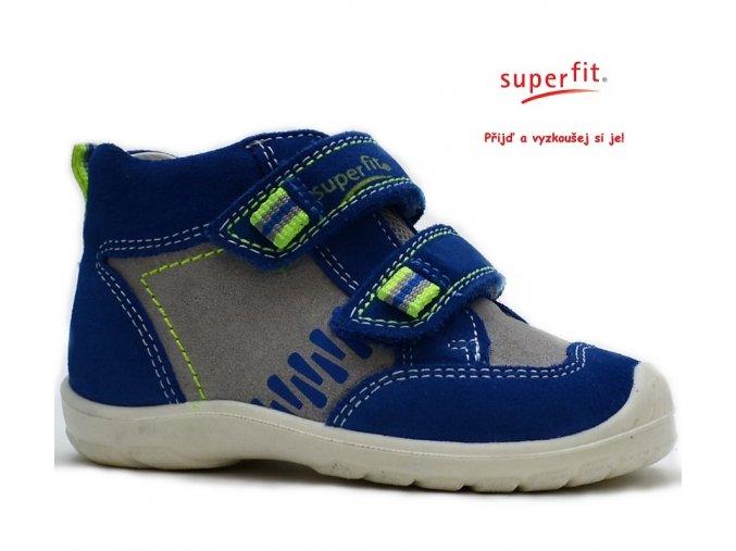 Dětské boty SUPERFIT 2-00344-85 bluet kombi
