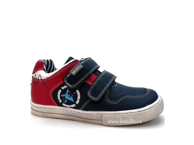 SLOBBY obuv 42-0538 červenomodré