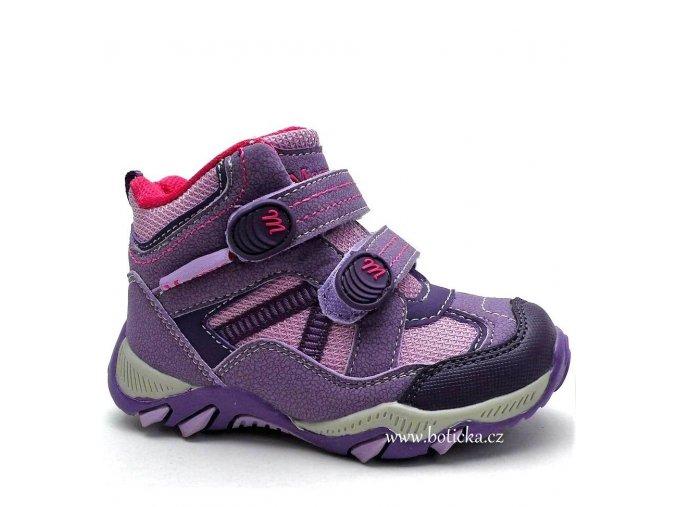 MAGNUS obuv 46-0093 růžovofialové