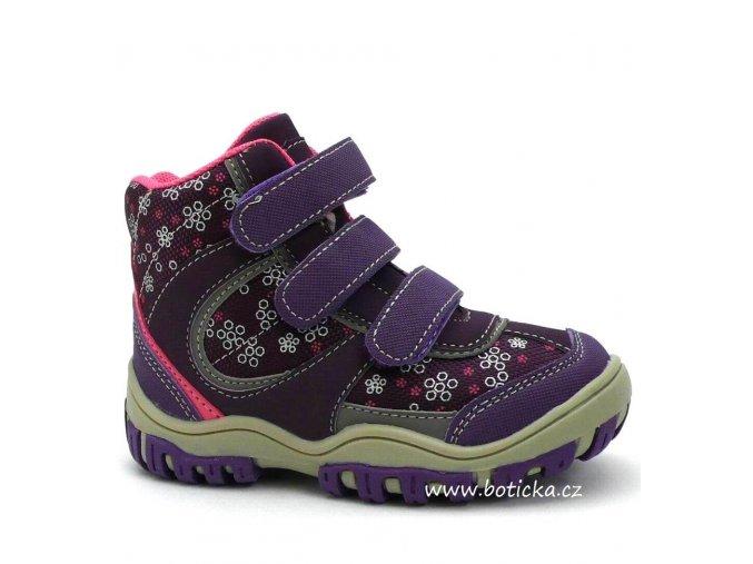 MAGNUS obuv 46-0234 fialové