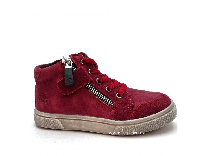 SLOBBY obuv 46-0300 červené