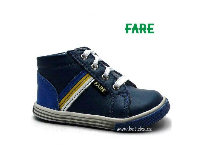 Dětské boty FARE 2154101 modré