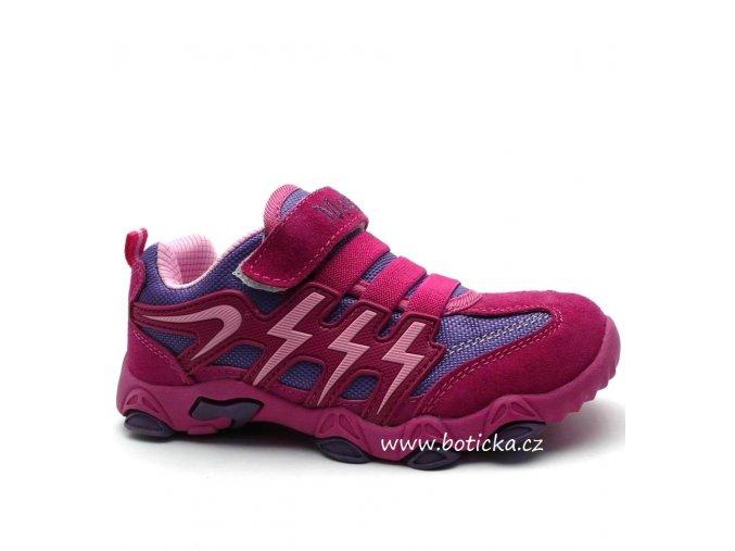 MAGNUS obuv 47-0548 fialovorůžové