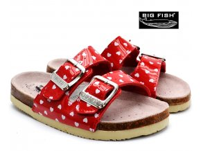 BIG FISH pantofle FO5131507 puntík