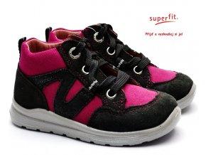 Dětské boty SUPERFIT 3-00323-21 grau/rosa