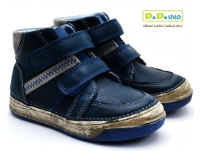Dětské boty DDstep 040-417A modré