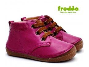 Dětské boty FRODDO G2130145-7 ciclamen
