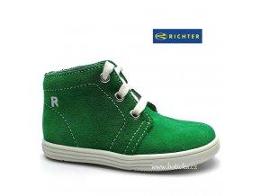 Dětské boty RICHTER 0126 zelené
