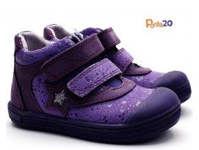 Dětské boty PONTE PP118A Fialové