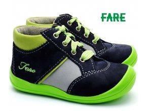 Dětské boty FARE 2121201 šedozelené