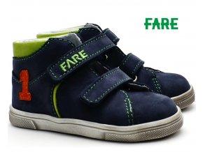 Dětské boty FARE 2127205 zelenomodrá