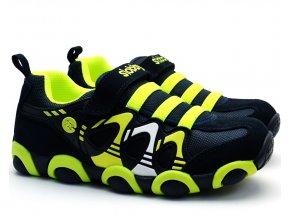 Dětské boty SLOBBY 47-0709 zelenomodré