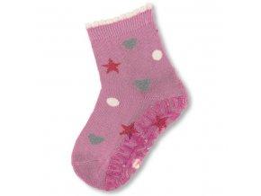 Protiskluzové ponožky STERNTALER 8131809 hvězdy