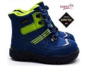 Zimní obuv SUPERFIT 3-09043-81 blau grun