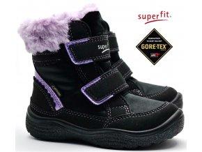 Zimní obuv SUPERFIT 3-09090-00 schwarz lila
