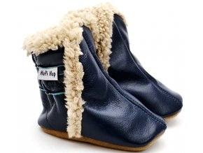 Zimní capáčky Hopi Hop modré
