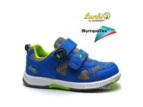 LURCHI obuv 33-26401 modrozelené
