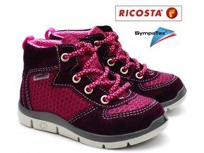 Dětské boty RICOSTA 20272-362 merlot