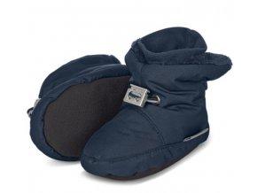 Teplé botičky utahovací STERNTALER modré