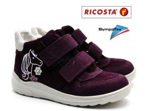 Dětské boty RICOSTA Fiona 82221-381 merlot