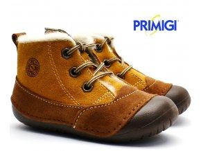 Zimní barefootové boty PRIMIGI 2400011 hnědé