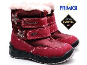Zimní boty PRIMIGI PMAGT 2378411 bordo 5b27dbb021