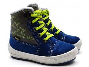 Zimní boty SUPERFIT 3-09306-81 blau/grun