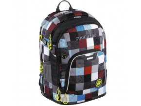Školní batoh Coocazoo RayDay Checkmate Blue Red