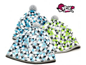 Zimní čepice RDX funkční 3670 trojuhelníky