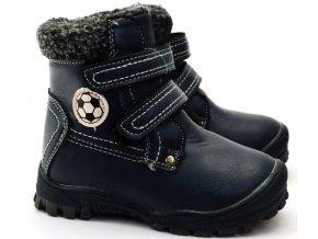 Zimní obuv Slobby 46-0021-T1 modrošedé